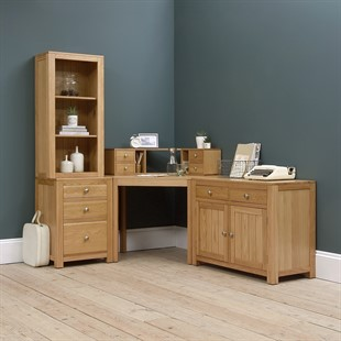 Chalford Oak Complete Office Suite