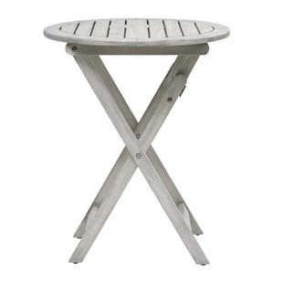 Baunton Round Folding Table 60cm
