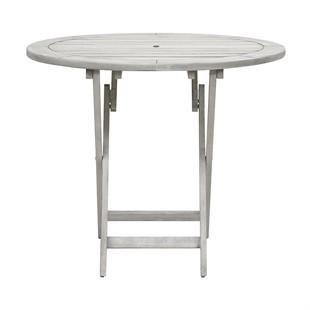 Baunton Round Folding Table 100cm