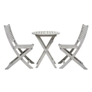 Baunton Bistro Set - Round Table and 2 Chairs