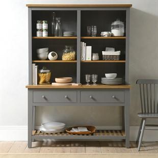 Kingscote Flint Grey Dresser