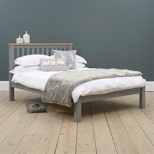 """Simply Cotswold Storm Grey 4ft 6"""" Double Bed"""