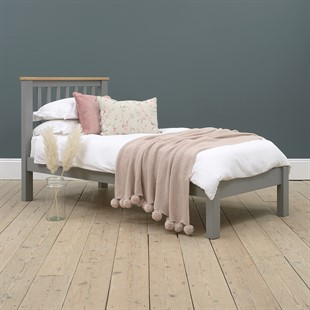 Simply Cotswold Storm Grey 3ft Single Bed