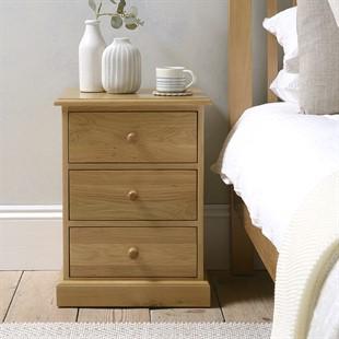 Appleby Oak Bedside Cabinet