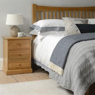 """Appleby Oak  4ft 6"""" Double Bed"""