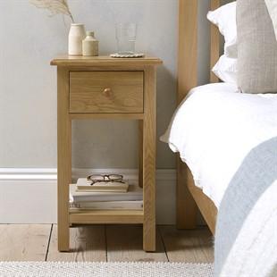 Appleby Oak 1 Drawer Bedside