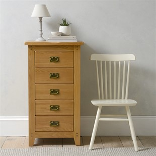 Oakland 5 Drawer Tall Chest