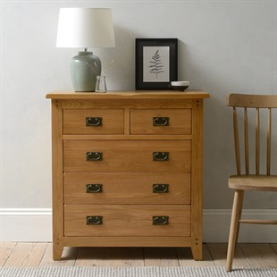 Oakland 2 over 3 Chest of Drawers