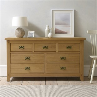 Oakland 3 Over 4 Drawer Chest