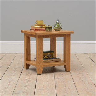 Oakland Side Table with Shelf