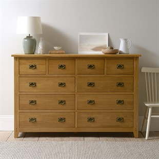 Oakland Wide 10 Drawer Chest