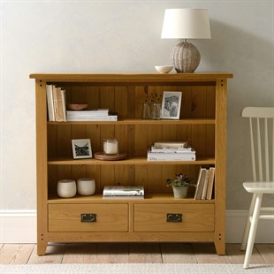 Oakland Low and Wide Bookcase
