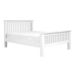 """Burford Soft White 4ft 6"""" Double Bed"""