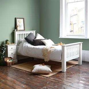 Burford Warm White 3ft Single Bed
