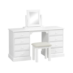 Burford Soft White Large Dressing Set