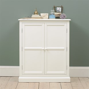 Burford Warm White Combination Wardrobe