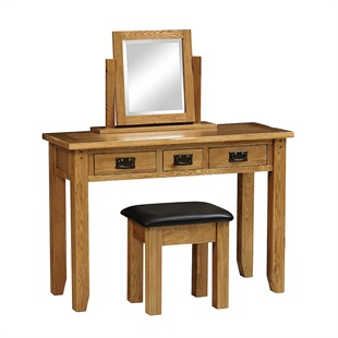 Oakland Console Dressing Table Set