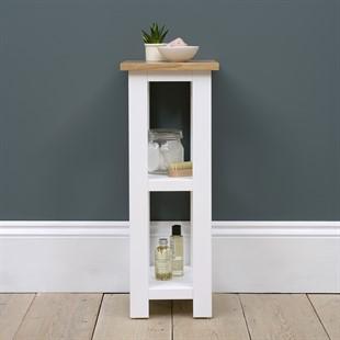 Chatsworth Pure White 3 Tier Shelf Unit