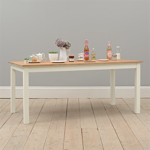 Portobello Painted 180cm Fixed Top Dining Table