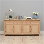 Natural Oak Extra Large Sideboard The Cotswold Company