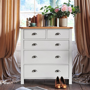Solid Wood Chests Of Drawers In Oak Pine Painted Styles The
