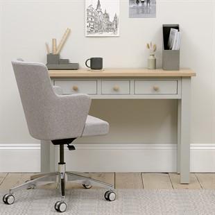 Chester Dove Grey Console Desk