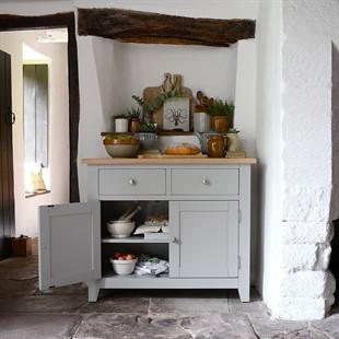 Chester Dove Grey 2 Door Sideboard