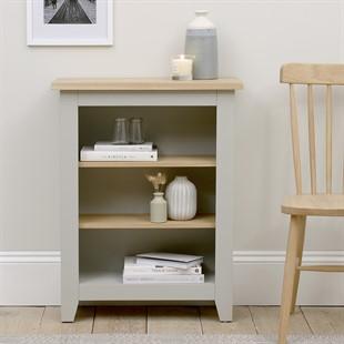 Chester Dove Grey Small Bookcase