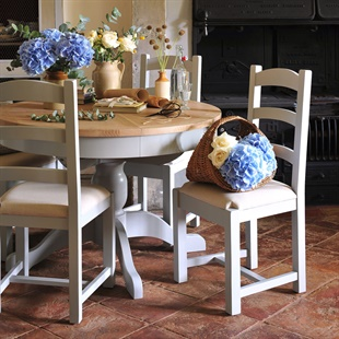 Chester Dove Grey Ladderback Dining Chair