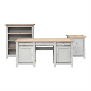 Chester Dove Grey Office Set
