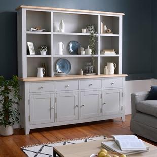 Chester Dove Grey Grand Dresser