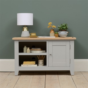 """Chester Dove Grey TV Unit - up to 45"""""""