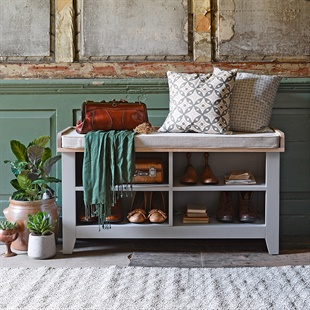 Solid Oak Pine Amp Painted Shoe Storage Amp Storage Benches