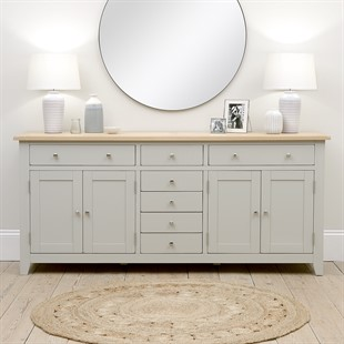 Chester Dove Grey Grand Sideboard