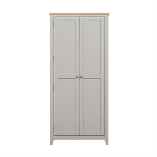 Chester Dove Grey 2 Door Hallway Cloakroom
