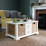 Burford Painted Open Display Coffee Table The Cotswold