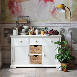 Farmhouse Painted Large Sideboard