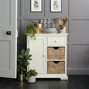 Farmhouse Painted Extra Small Sideboard - Ivory