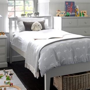 Pensham Dove Grey 3ft Single Bed