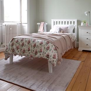 Pensham Pure White 3ft Single Bed - White