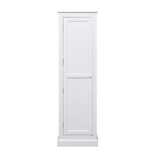 Pensham Pure White Single Wardrobe