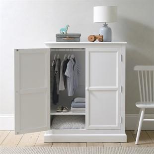 Pensham Pure White Combi Wardrobe