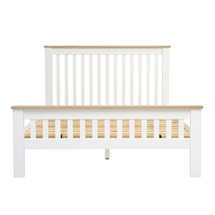 Chester Pure White 5ft Kingsize Bed