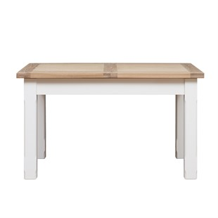 Chester Pure White 132-162-192cm Ext. Dining Table