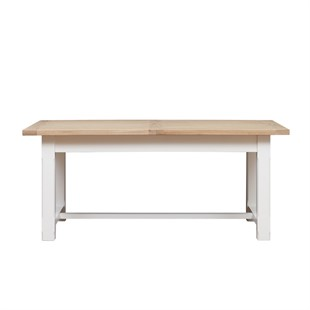Chester Pure White 180-220-260cm Ext. Dining Table
