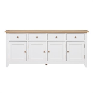 Chester Pure White Extra Large Sideboard
