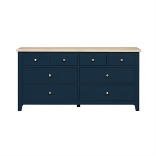 Chester Midnight Blue NEW Low and Wide Chest