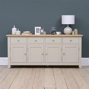 Chester Stone Extra Large Sideboard