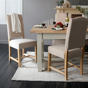 Chester Stone 132-162-192cm Ext. Dining Table