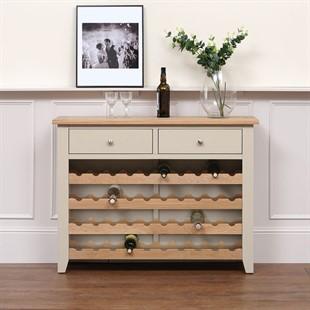 Chester Stone Wine Console